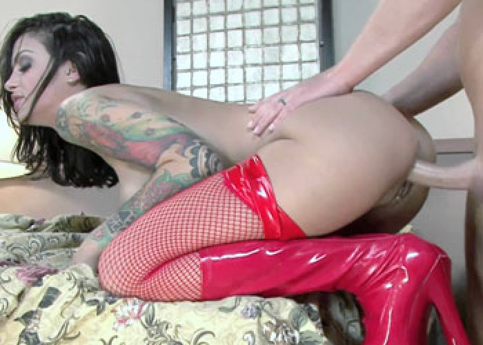 Naughty nurse Angelina screws her patient