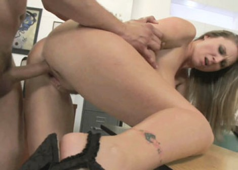 Mature slut Devon fucks a younger guy