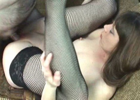 Sammi in fishnets and fucking Logan